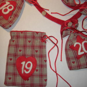 Adventskalender Girlande